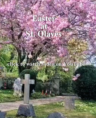 St Olaves at Easter